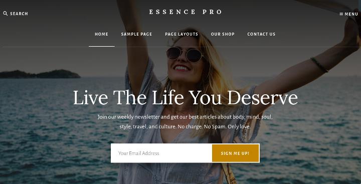 StudioPress Essence Pro theme review