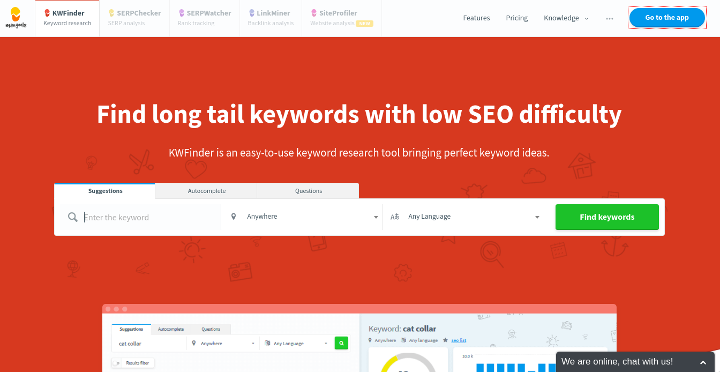 Kwfinder review: Powerful keyword research tool