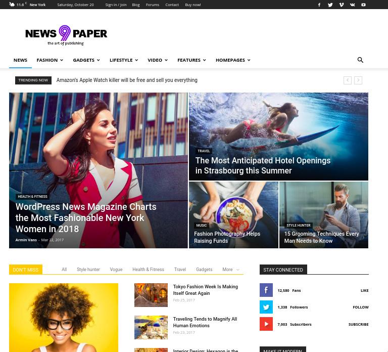 tagDiv Newspaper WordPress theme review
