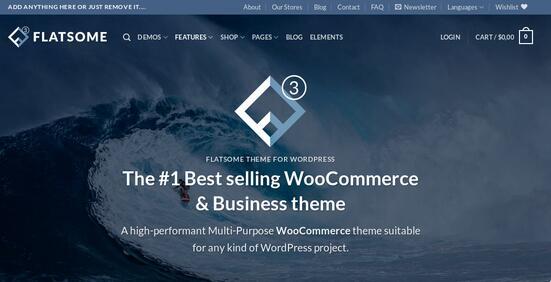 Flatsome theme review: Multi purpose WordPress WooCommerce template