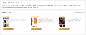 Amazon affiliate program review: widgets