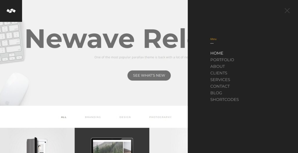 Newave theme