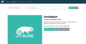 OpenSUSE Tumbeweed