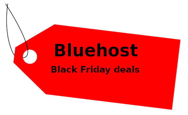 Bluehost Black Friday Deals - Up to 60% off