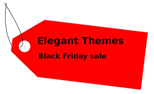 Elegant Themes Black Friday Sale