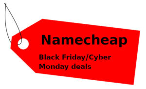 Namecheap Black Friday And Cyber Monday
