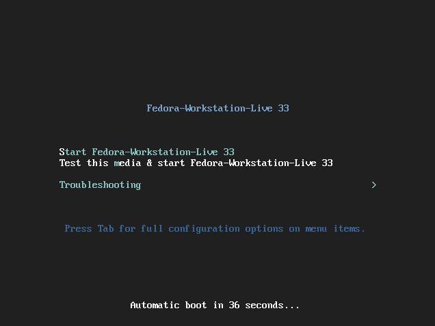 Fedora Installer
