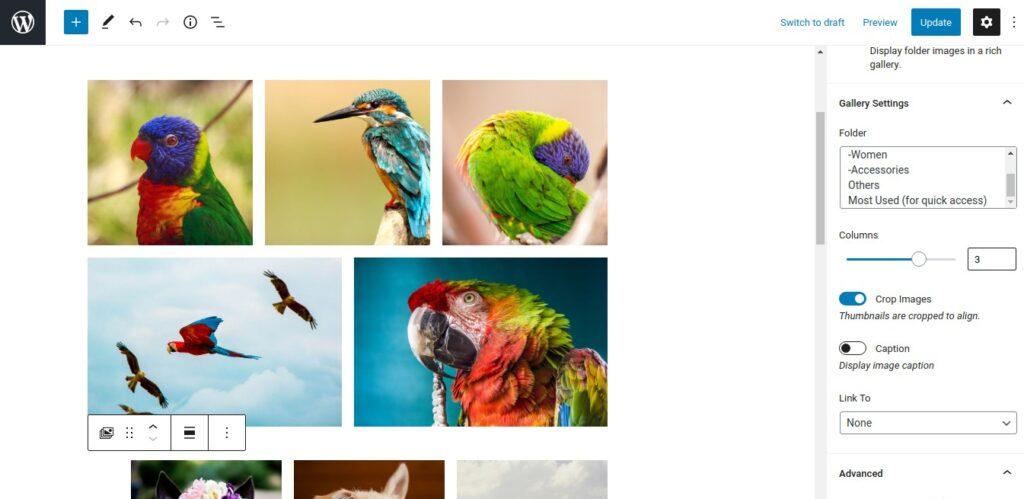 Filebird Gallery