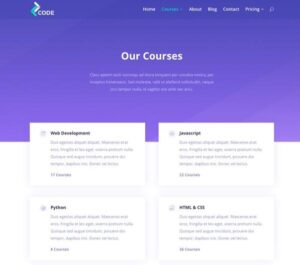 Elegant Themes Divi Lms Layout Pack