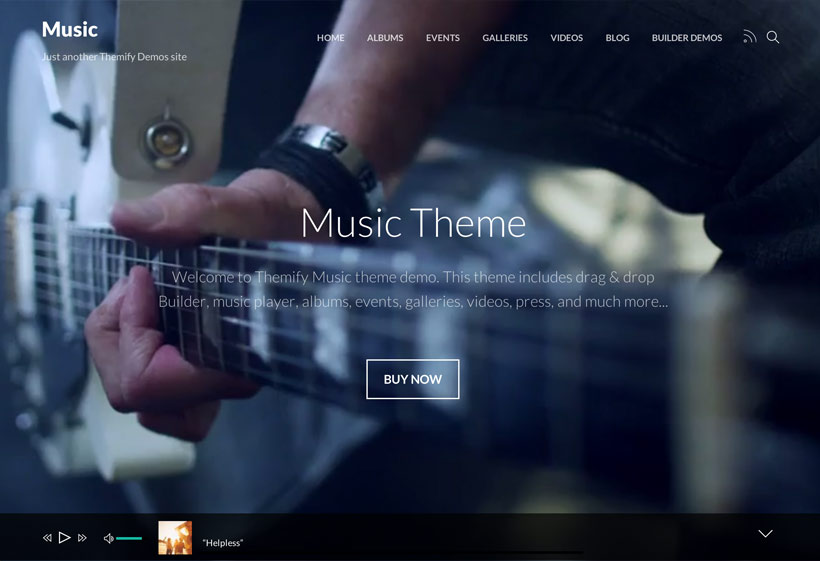Themify Music Theme for WordPress
