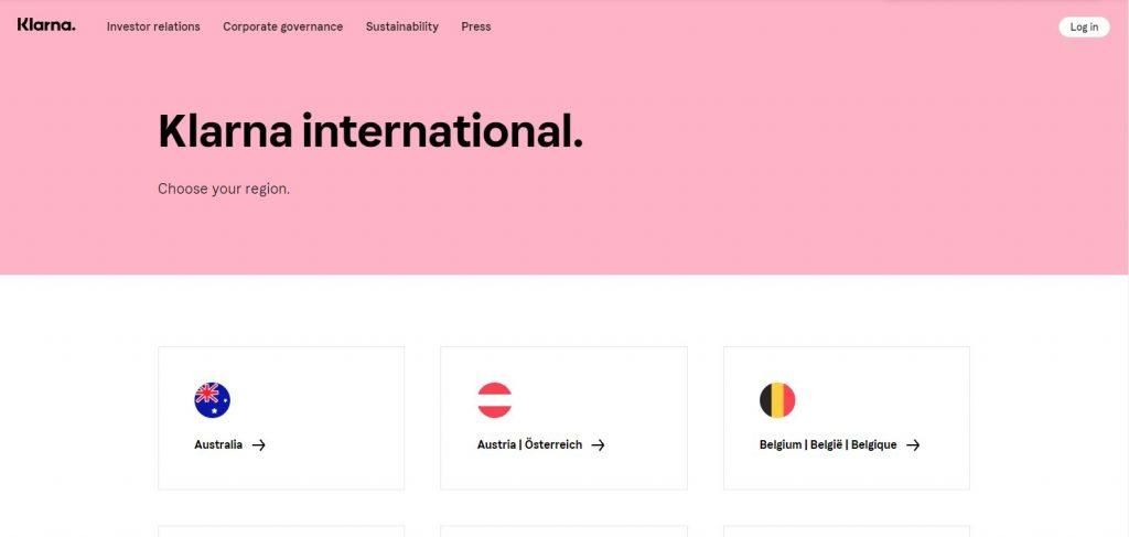 Klarna international
